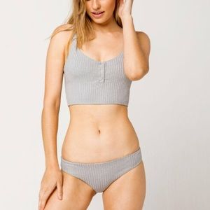 New Anthropologie Tavik Kaia Crop Bikini Top XS